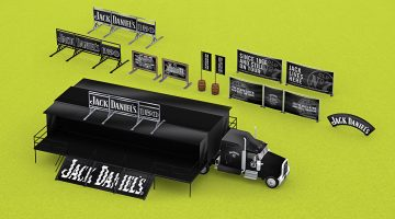Jack Daniels 3D visualisation